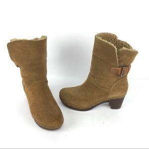 Ugg Australia Amoret Boot Leather Suede 1003373